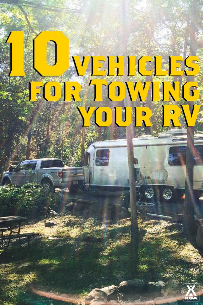 10 Vehicles for Towing your RV