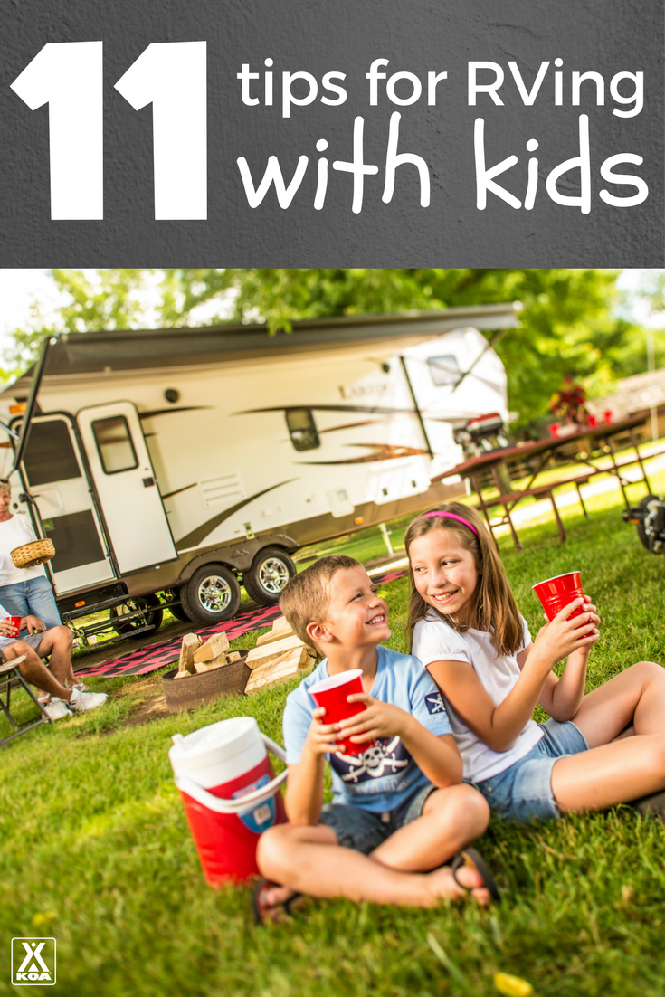 11 Tips for RVing with Kids