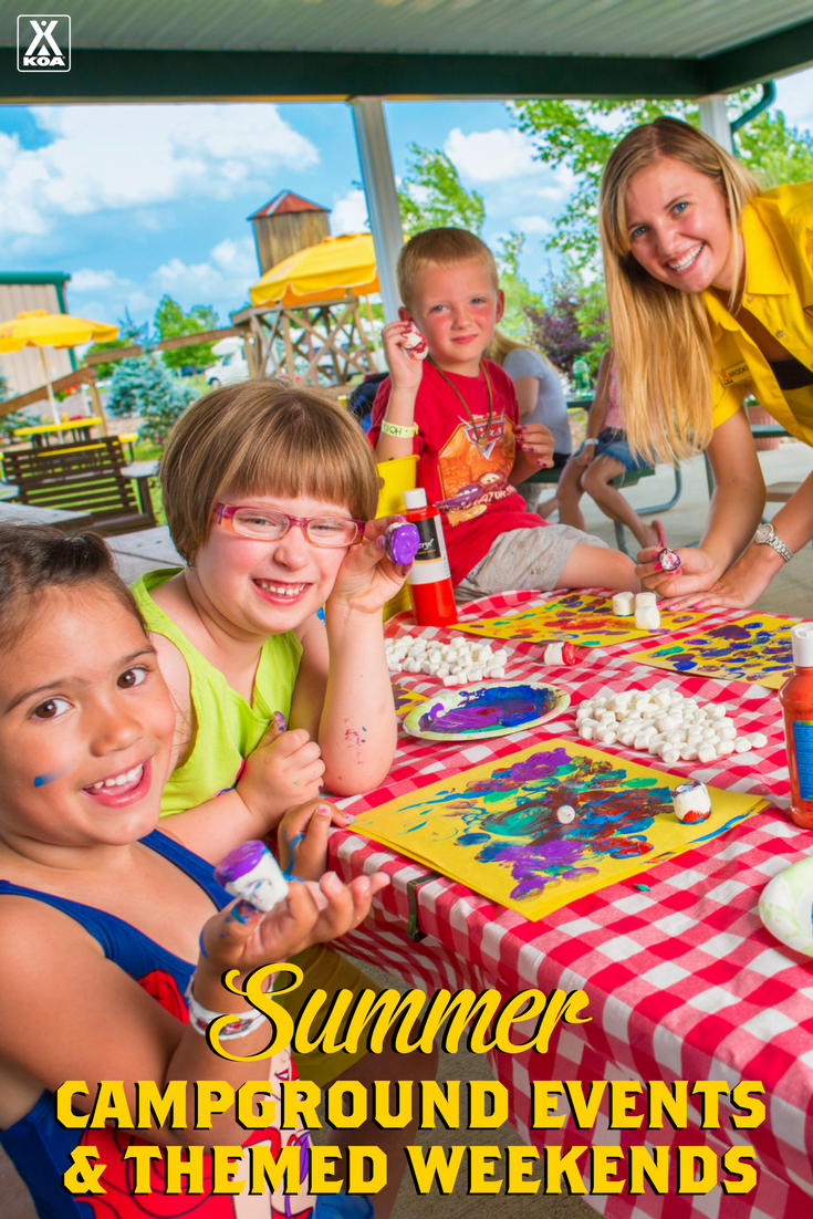 2017 Summer Campground Events and Themed Weekends