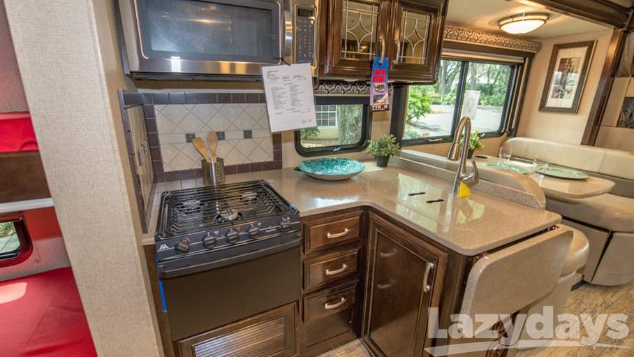 ... Most Of Counter Space. 2017 Thor Motor Coach Four Winds