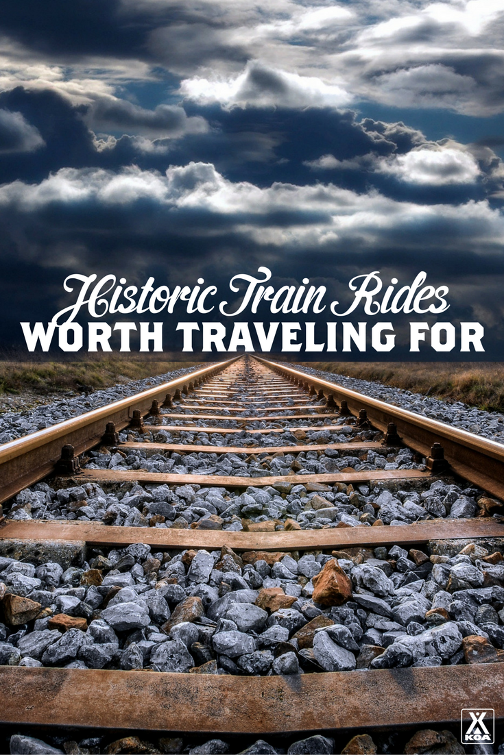 5 Historic Train Rides Worth Traveling For
