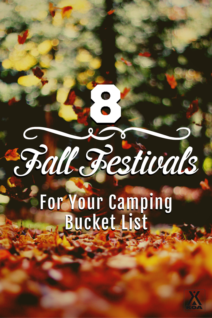 8 Fall Festivals For Your Camping Bucket List