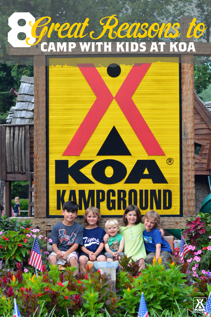 8 Great Reasons to Camp with Kids at KOA
