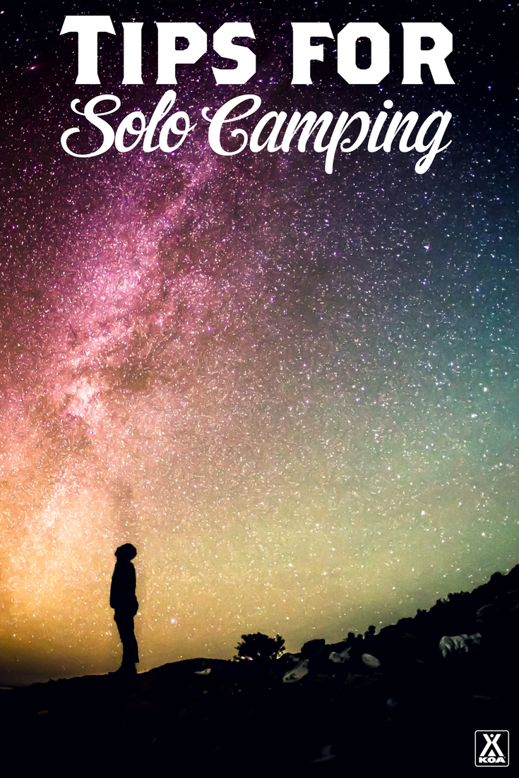A Guide to Solo Camping - Try camping solo to really recharge this summer!