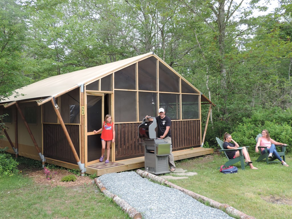 Bar Harbor / Woodlands KOA