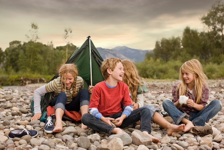 Be Courteous When Camping with Kids