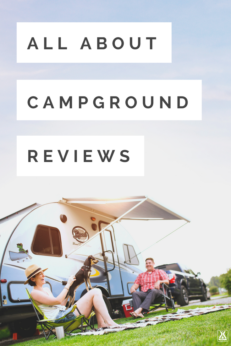Learn about campground reviews