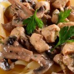Chicken Mushroom Pasta Slow Cooker Recipe