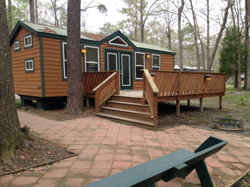 Deluxe Cabin Different Angle