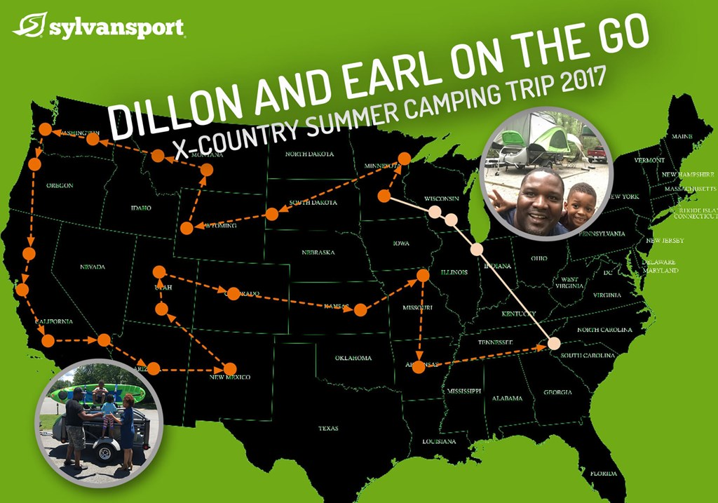Dillon and Earl Tour the US