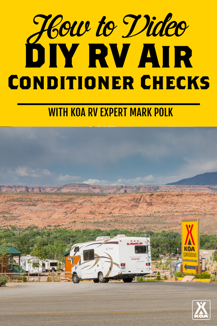 Do-It-Yourself RV Air Conditioner Checks - Watch Our Video!