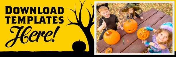 Download Camping Pumpkin Templates