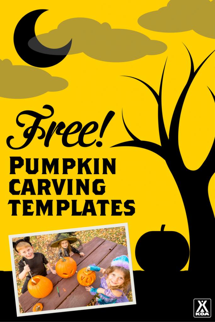 Free pumpkin carving templates koa camping