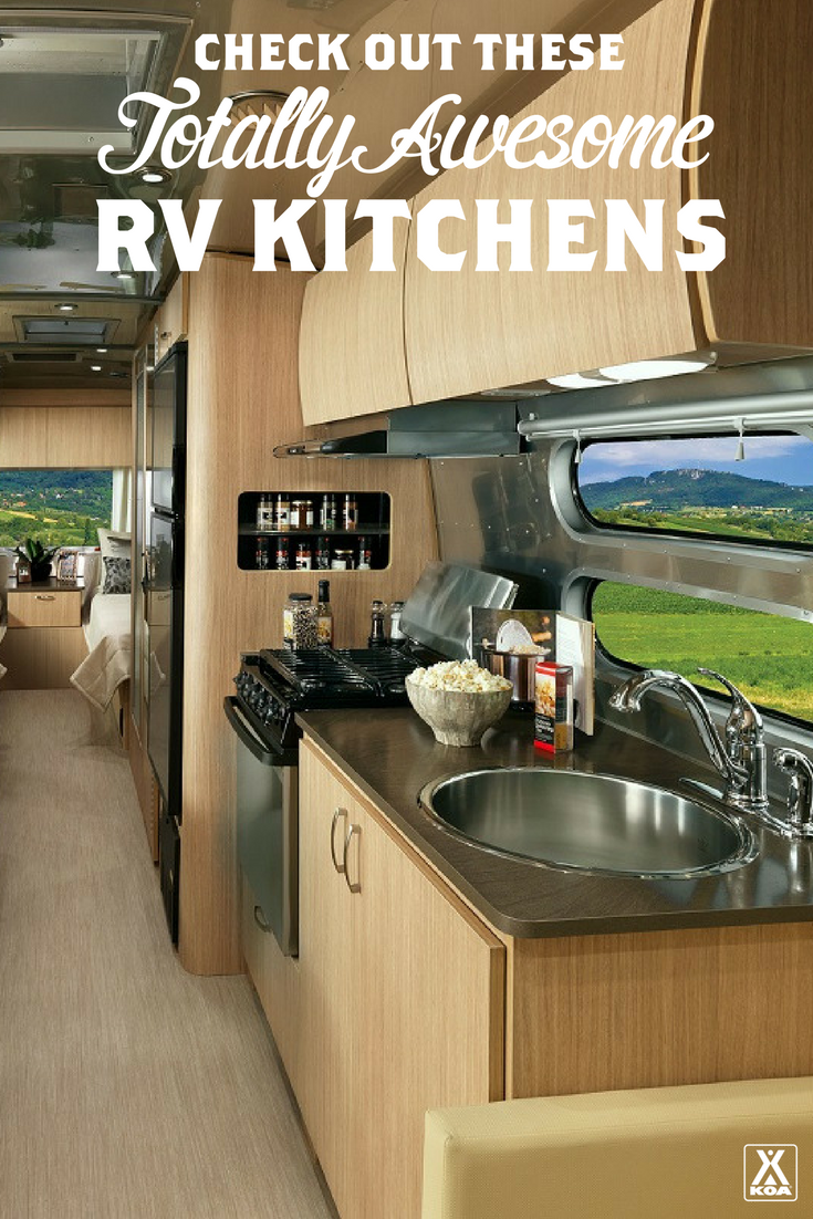 Explore Some Of The Best RV Kitchens   These RV Kitchens Have Some Serious  Style!