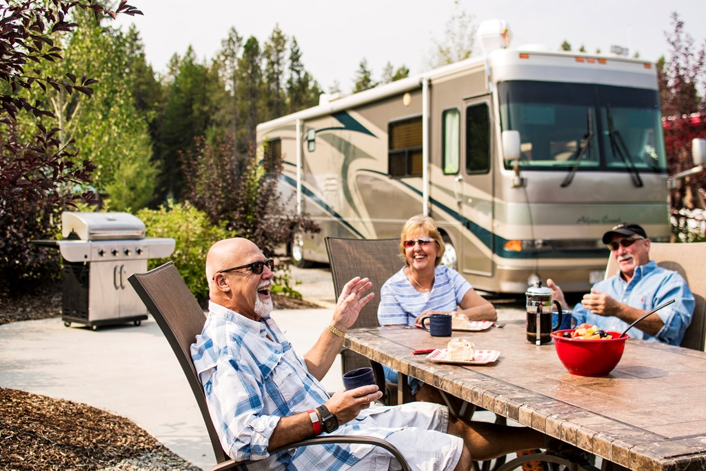 Find your perfect RV site at KOA