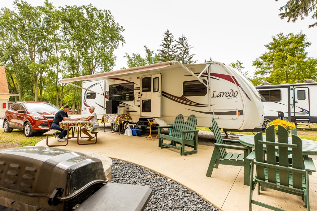Find your perfect RV site