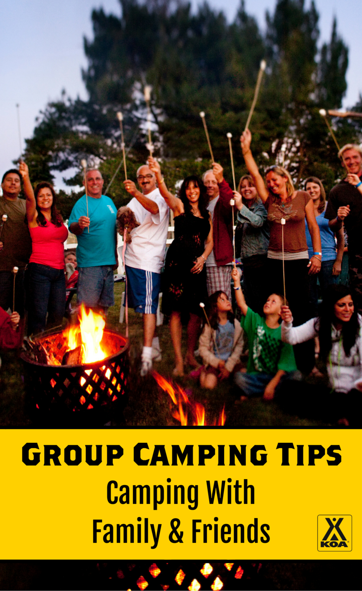Pin Me to Learn About Group Camping