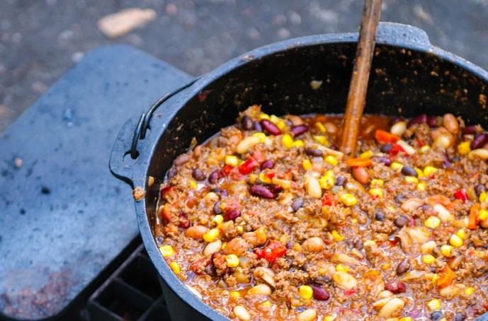 How To Make Campfire Chili Lasagna | KOA Camping Blog