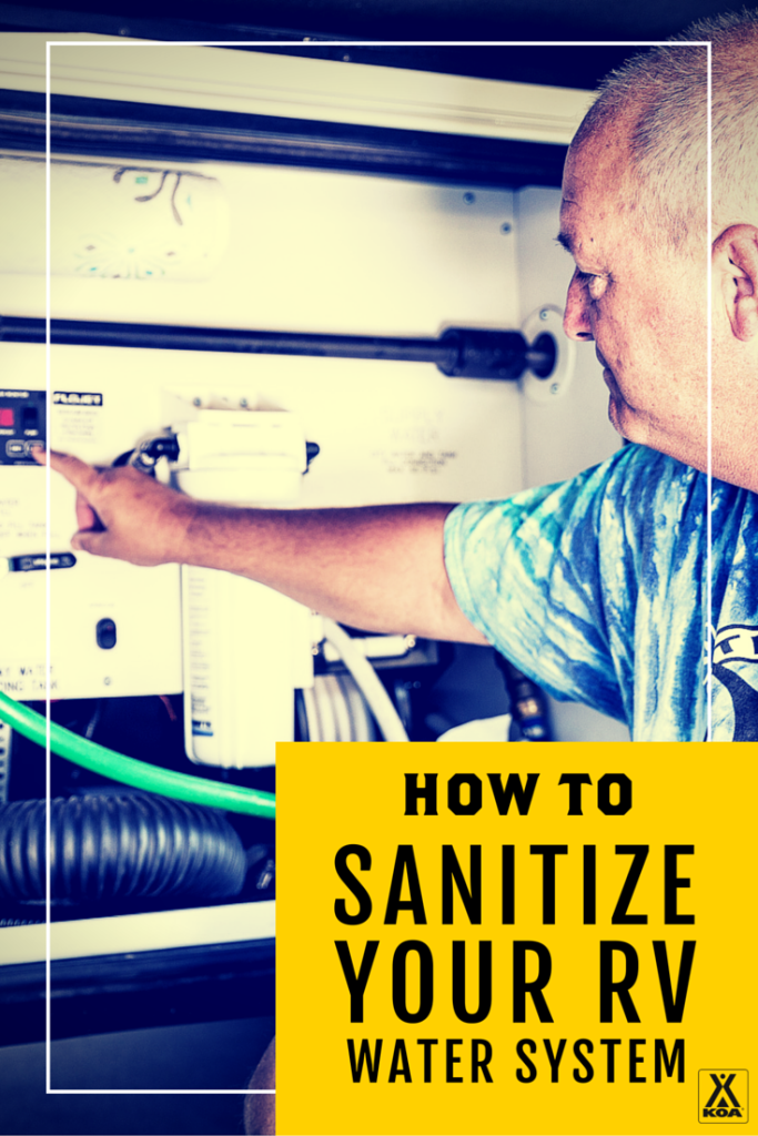How to Sanitize Your RV Water System
