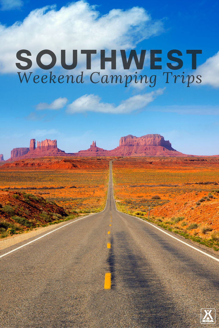 Is your schedule cramped_ Check out these weekend warrior trips to the Southwest perfect for any time of year.