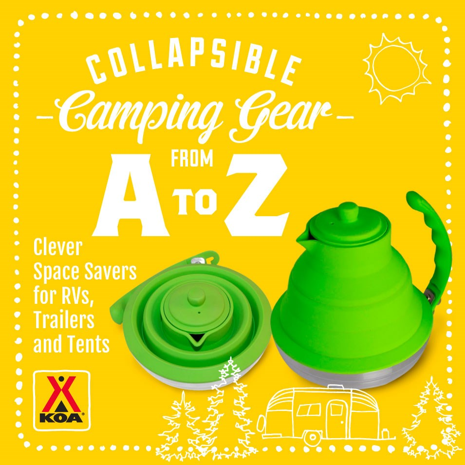 Foldable Camping Gear in