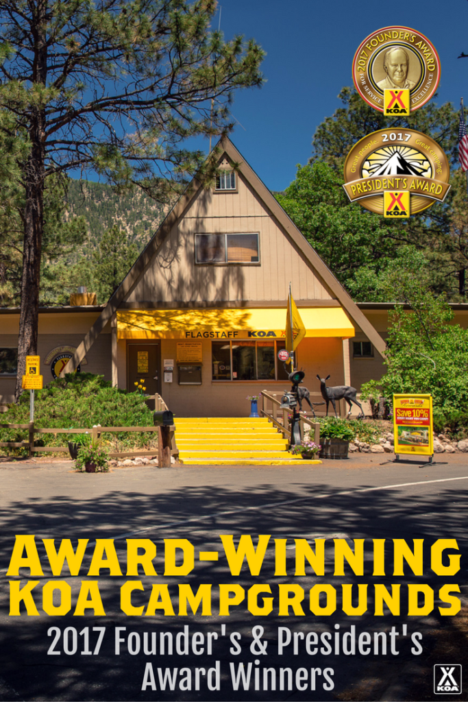 KOA's Founder's & President's Award Winners - See the complete list!