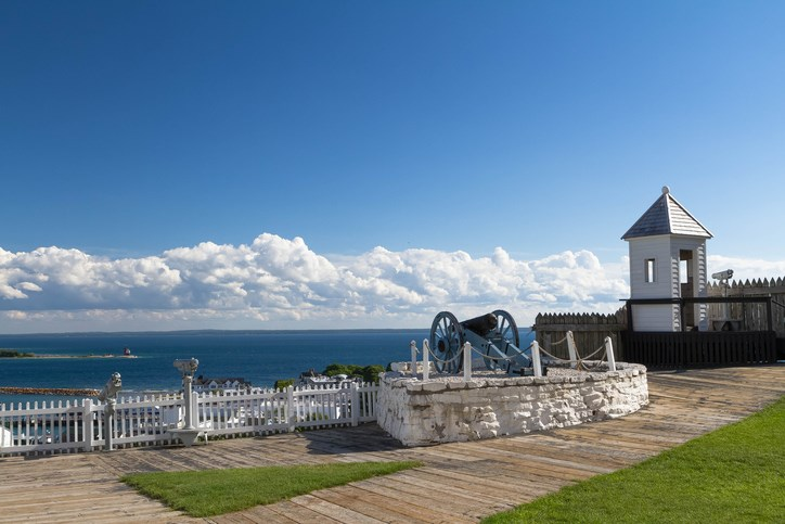 Fort Mackinac at Mackinac Island