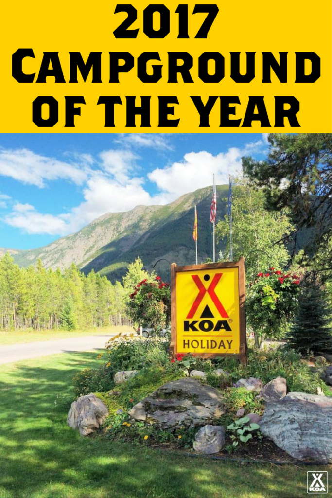 Meet KOA's 2017 Campground of the Year