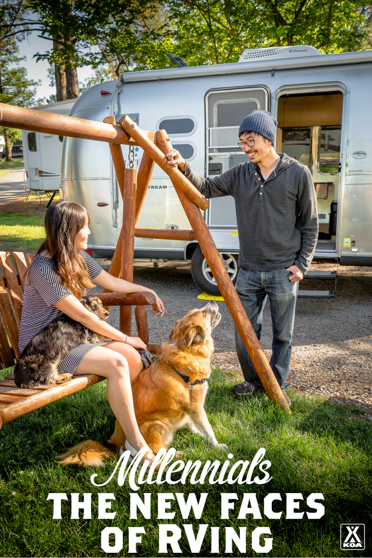 Millennials: The New Faces of RVing?