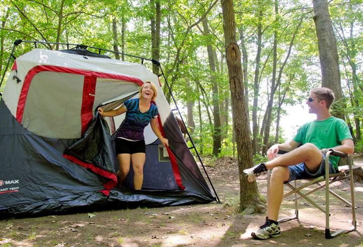 best loved f95be c165a How To Set Up a Tent Fast | KOA Camping Blog
