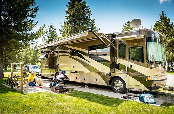 6 amp Camping hook up
