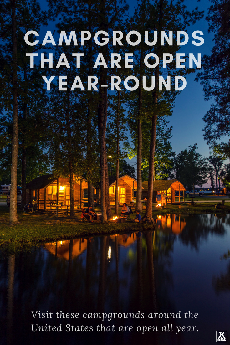 KOA Campgrounds That are Open All Year | KOA Camping Blog
