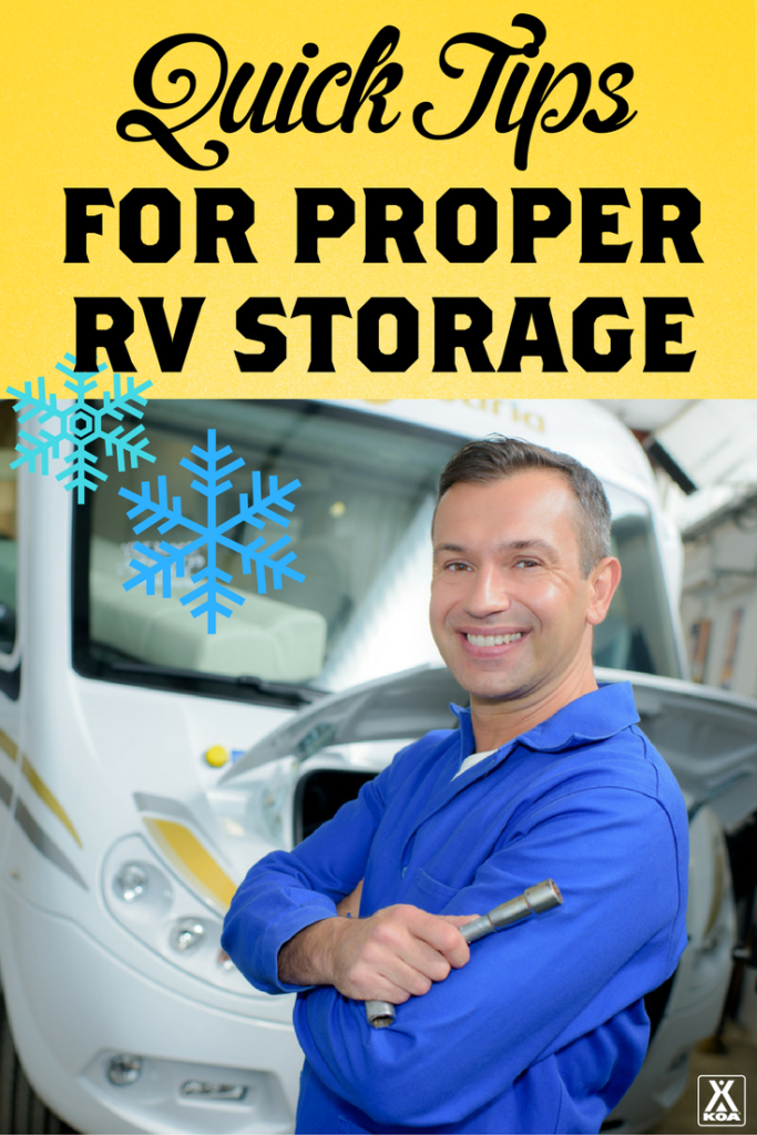 Quick Tips For Proper RV Storage from KOA