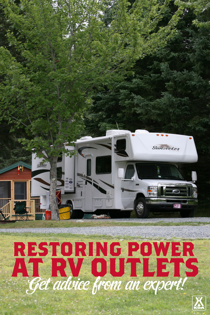 Restoring Power At Rv Outlets Koa Camping Blog Nomad Wiring Diagram Not Getting You Need To Read This