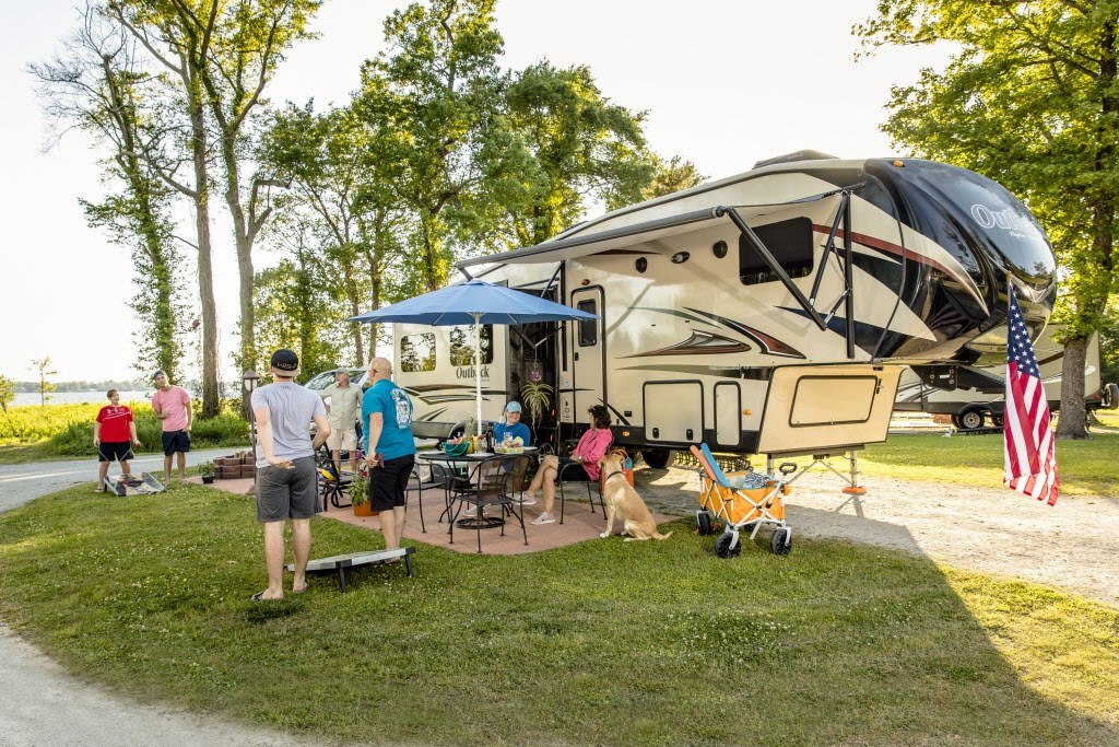 RVing at KOA