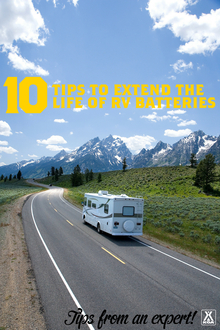 10 Tips to Extend the Life of RV Batteries