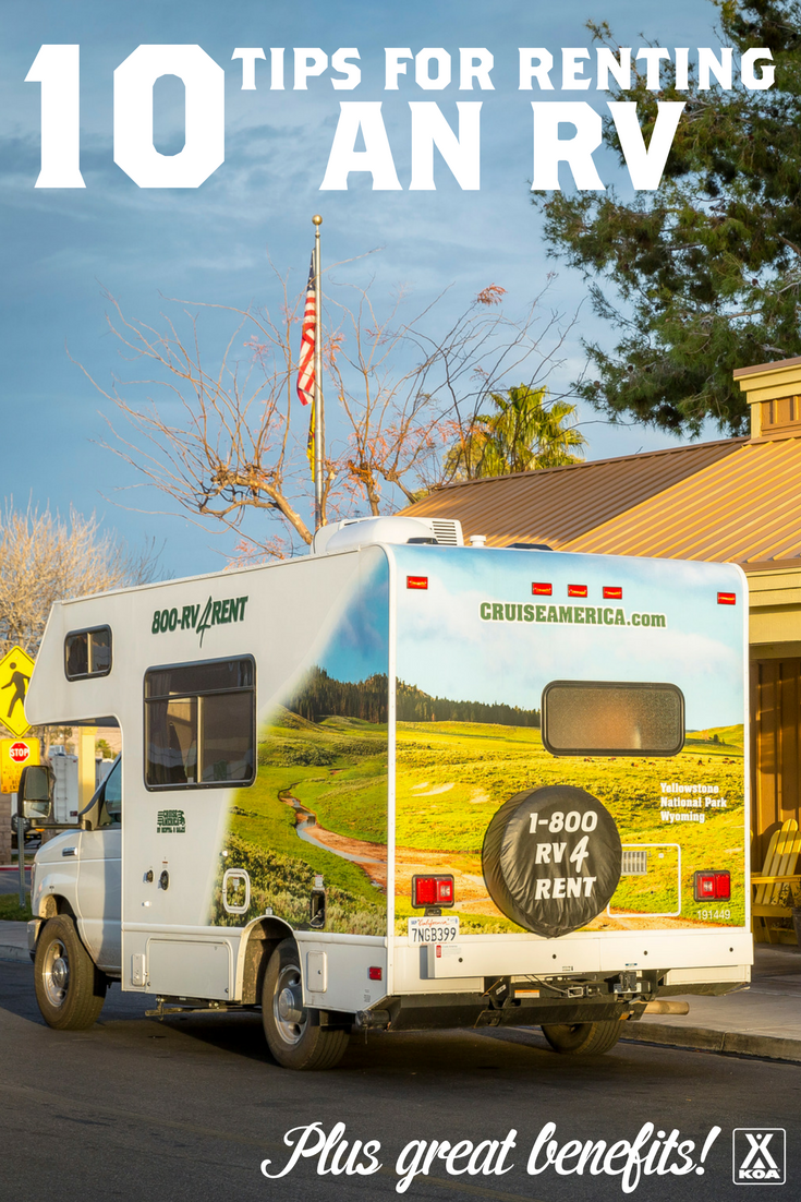 Renting an RV? These Tips will Get You Started!