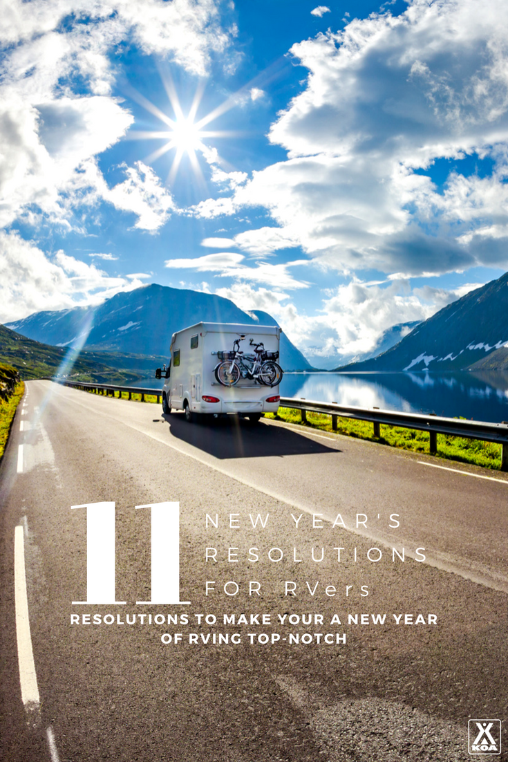 Resolutions to Make Your 2018 RVing Top-Notch