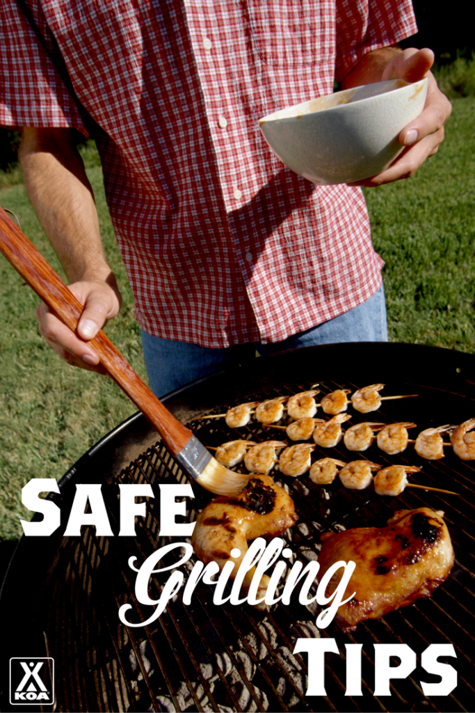 Safe Grilling Tips from KOA