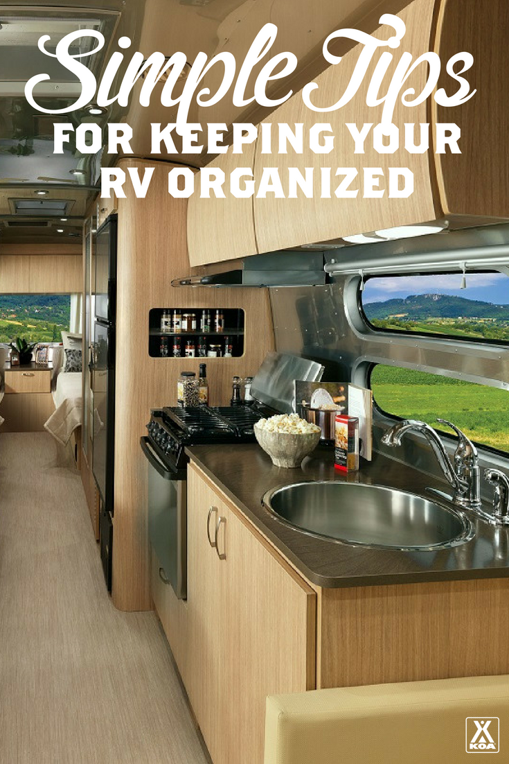 Simple Tips for Keeping Your RV Organized