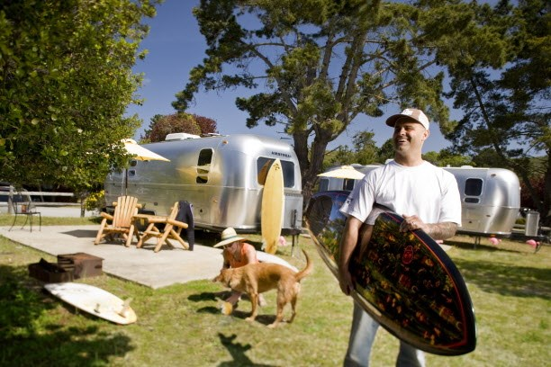 Stay in an Airstream at KOA