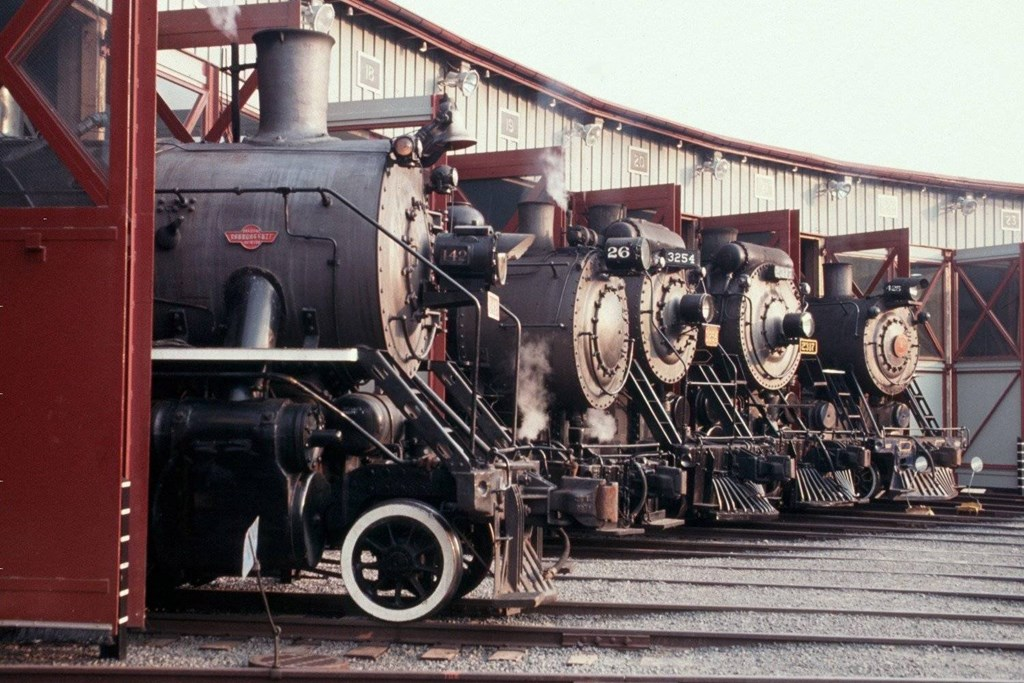 Steamtown Roundhouse