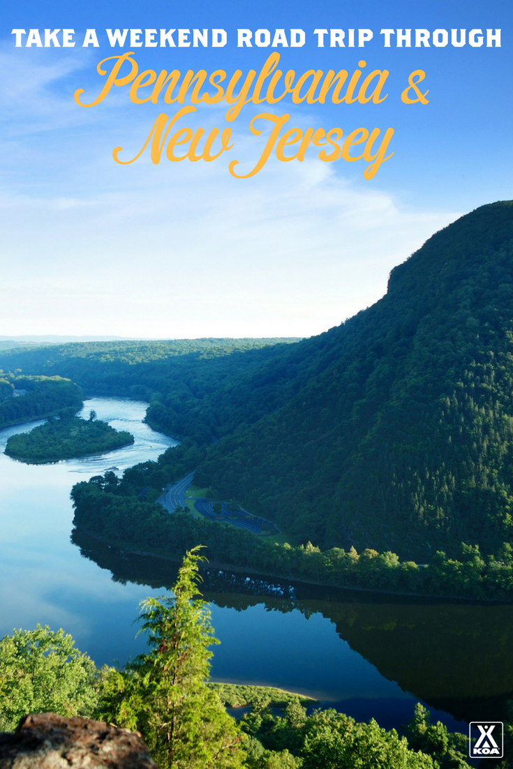 Take A Weekend Road Trip Through Pennsylvania and New Jersey - Visit Delaware Water Gap National Recreation Area