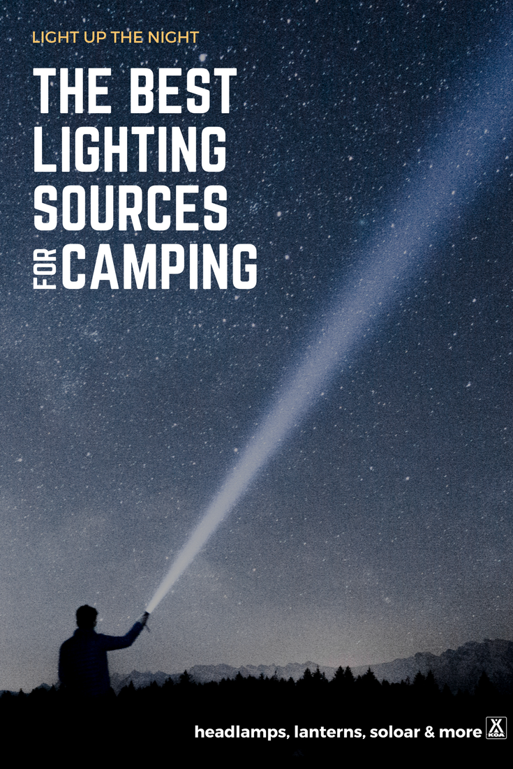 The Best Lighting Sources for Camping