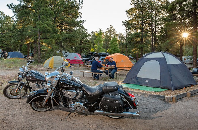 The Essential Motorcycle Camping Guide | KOA Camping Blog