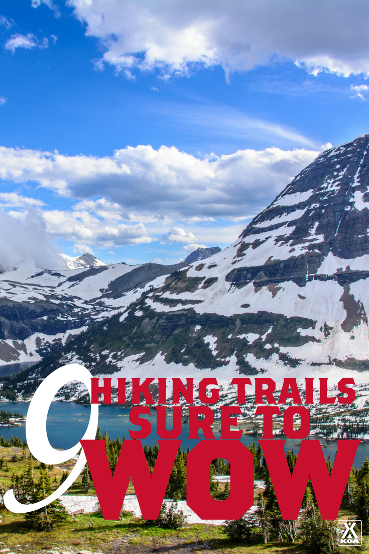 These American hiking trails are sure to amaze!