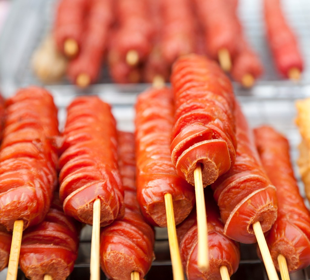 Make These Hot Dogs On A Stick During Your Next Camping Trip