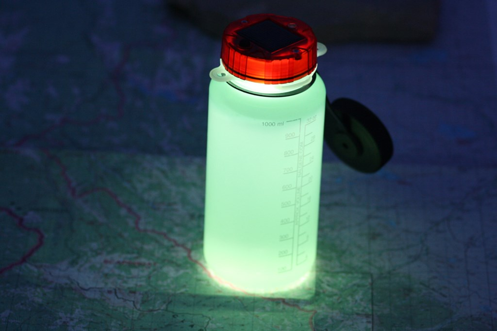Turn Your Water Bottle into a Solar Light