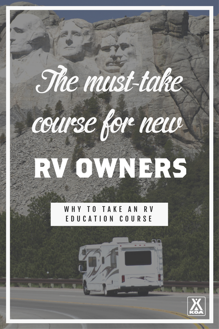 Why New RVers Should Take an RV Ed Course