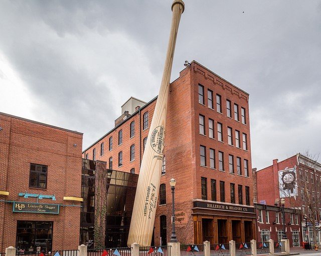 World's Largest Baseball Bat
